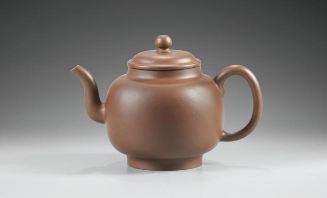 Théière en grès Yixing, Dynastie Qing, Époque Qianlong (1736-1795)