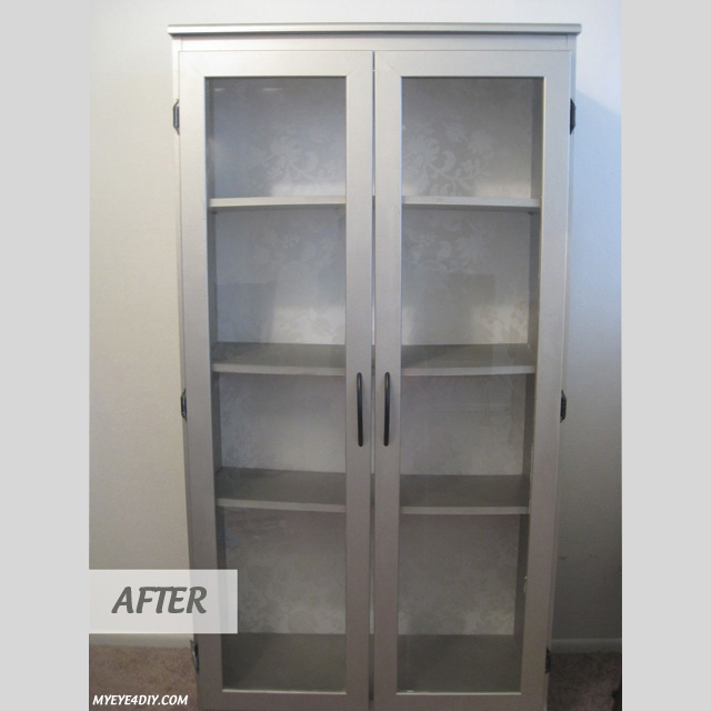 Craigslist Bookcase Makeover  MyEye4DIYcom