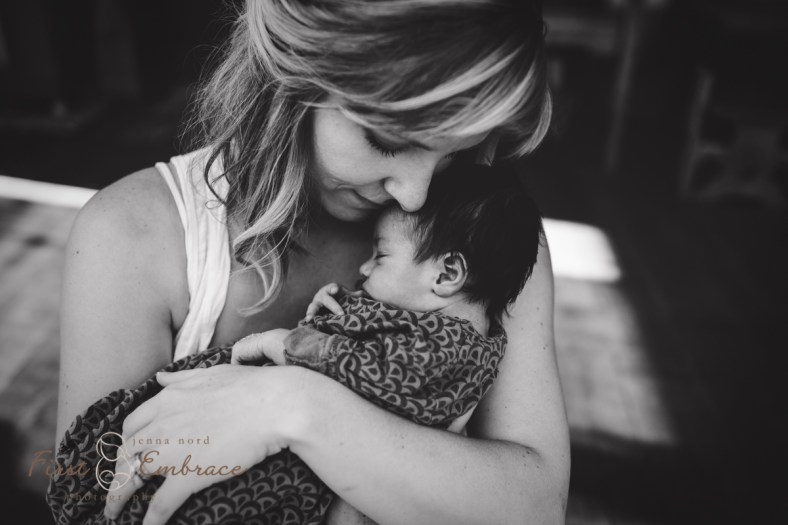 Missoula Newborn Photographer Jenna Nord First Embrace Photography