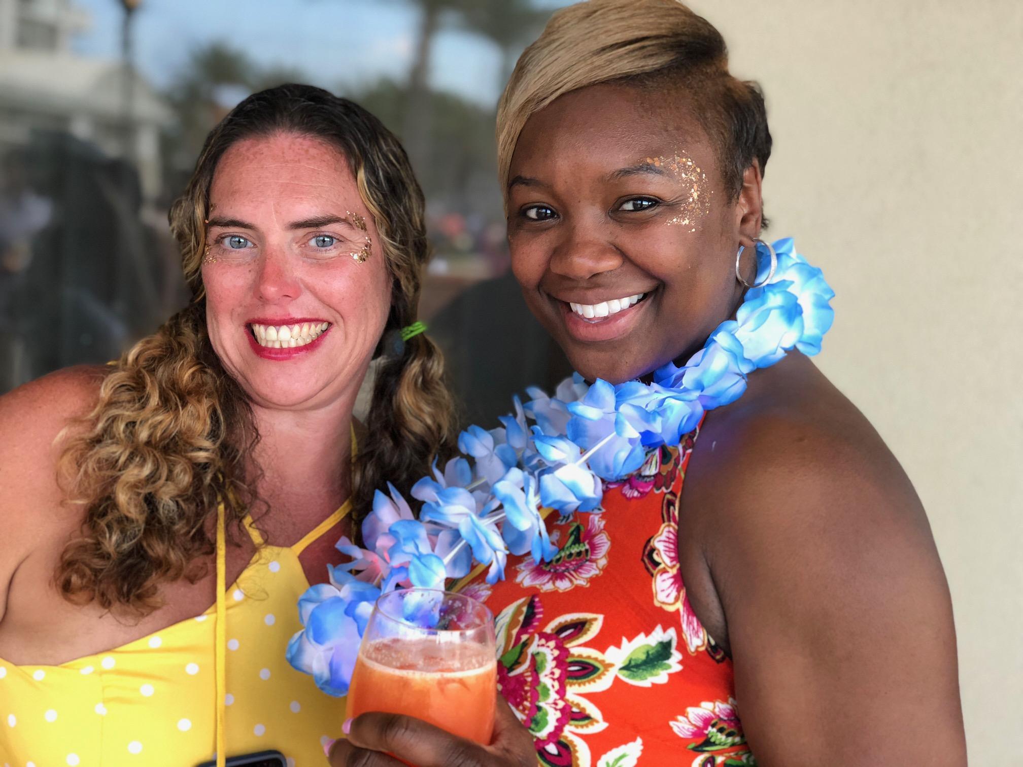 Hawaiian Glitter Bar