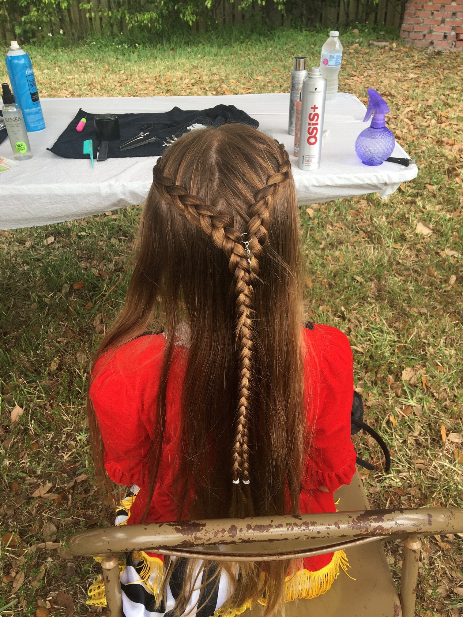 Hair Braid Back