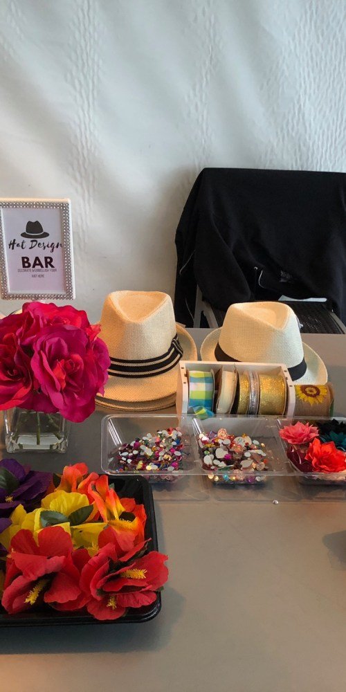 Hat Decorating Station