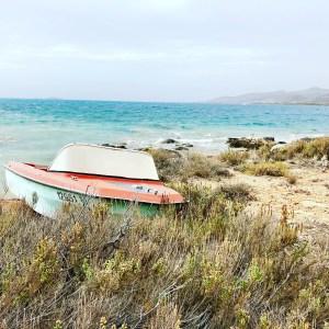 Island Hopping from Antiparos Greece