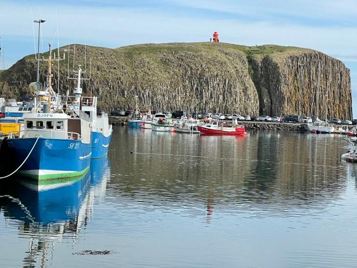 Fishing boats Iceland