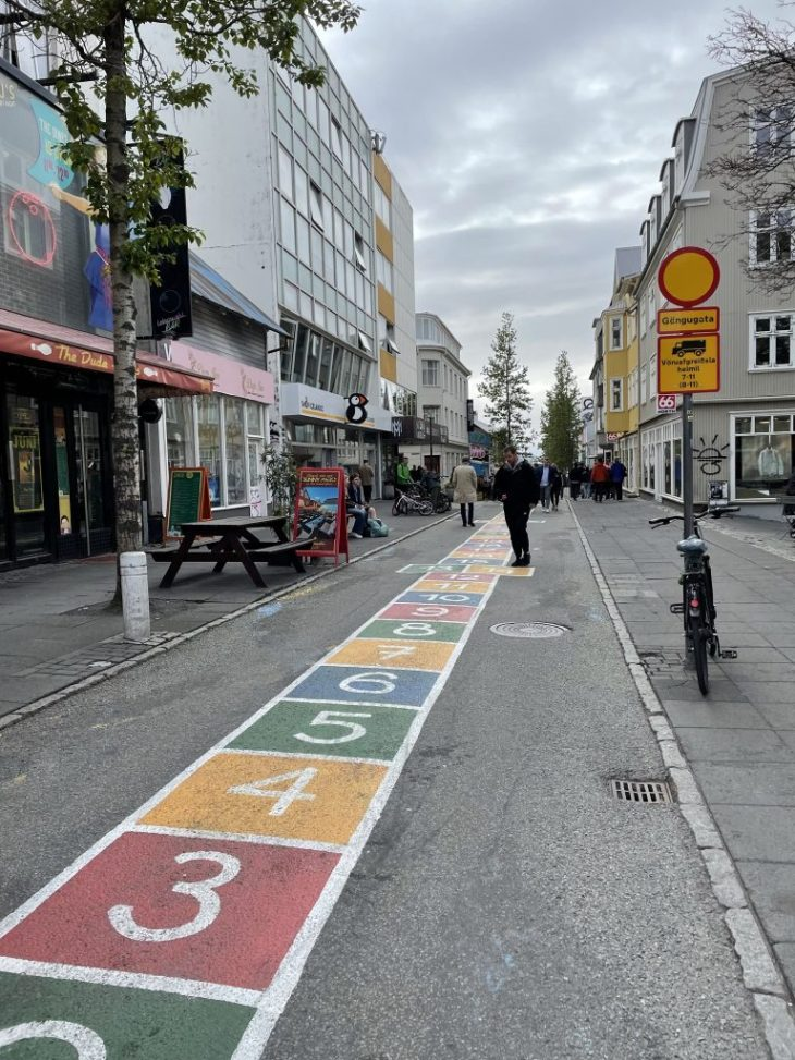 Laugavegur Main Street