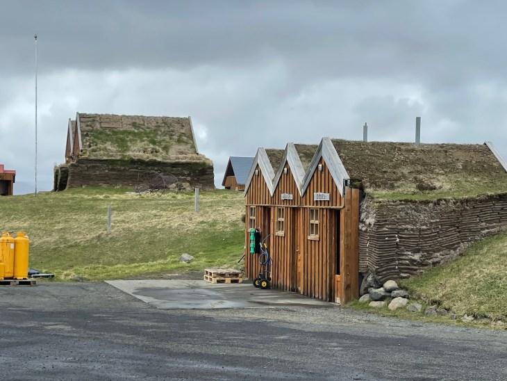 Sod buildings Iceland