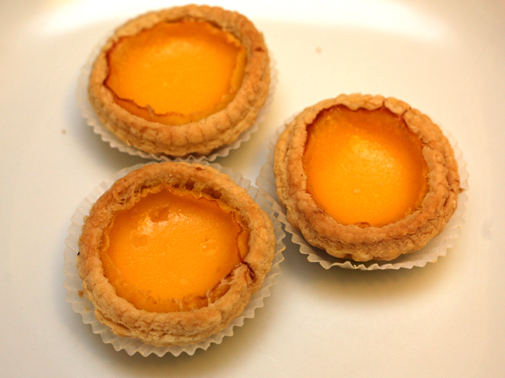 Chinese Egg Tarts in comparison to the Portuguese Egg Tarts