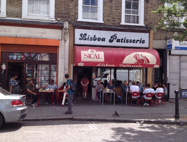 London's, Lisboa Patisserie in kensal green specialises in the Portuguese Egg Tarts.