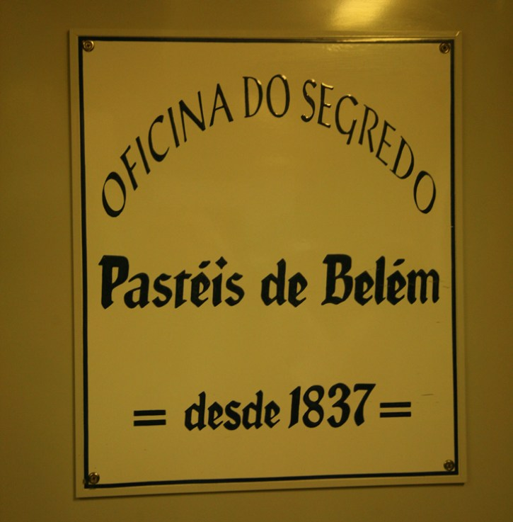The door to the room holding the secrets of Portuguese Egg Tart