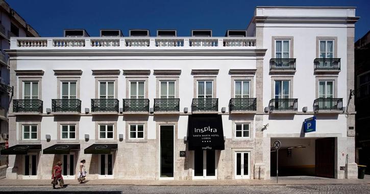 Lisbon's Inspire Santa Marta Hotel.