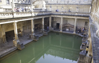 The Roman Baths of Bath Spa