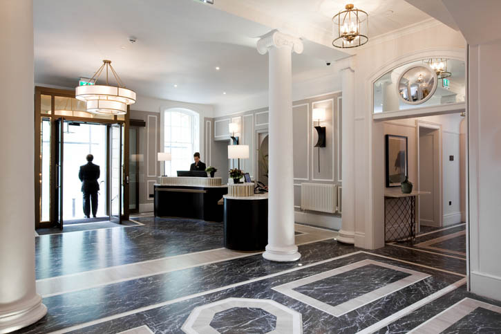 The Entrance Hall (image courtesy of Gainsborough Bath Spa)