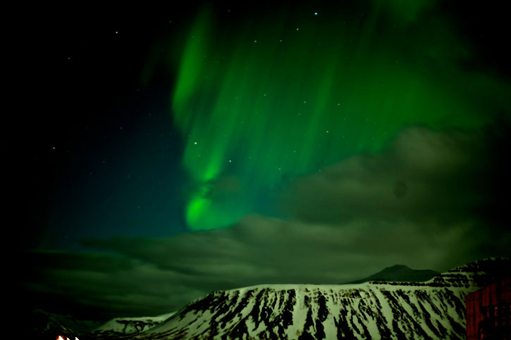 More views of the aurora borealis.