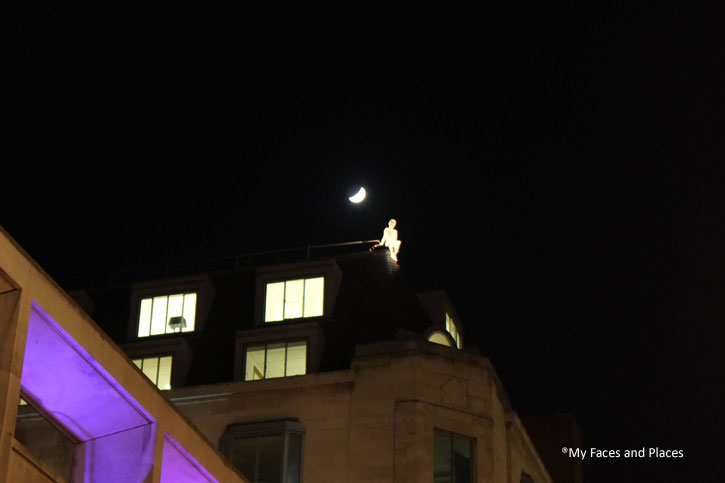 9. Travellers – Mysterious figures appearing on top of buildings in St James's. More of these figures can be seen in the MyFacesAndPlaces account on FaceBook.