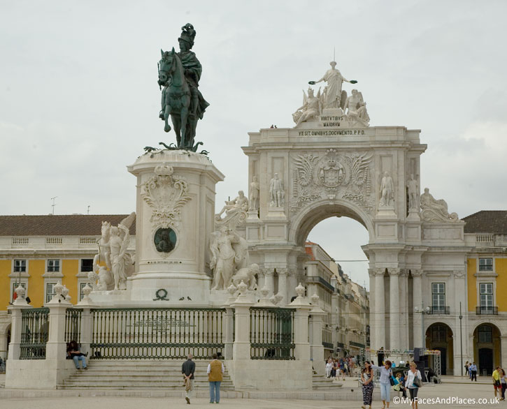 Commercial Square in Lisbon