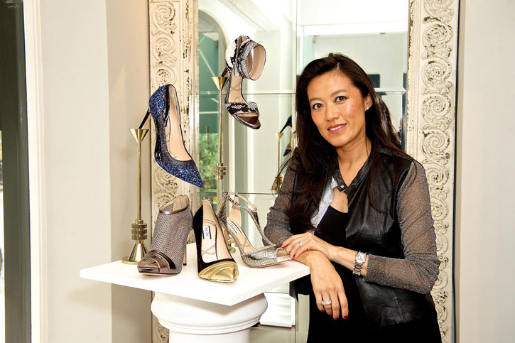 Lucy Choi at her store in Connaught Village, London