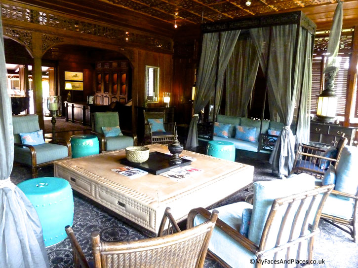 Interiors of Baan Borneo reflect the historical period of the house