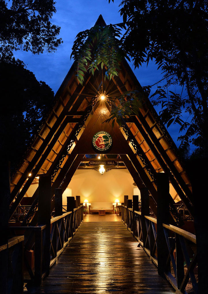 Gomantong Hall at Sukau Rainforest Lodge Photo by Calvin Ng. Albert Teo - A Man With A Green Mission