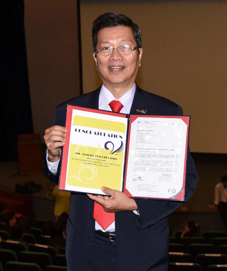 Albert Teo - Adjunct Professor of University of Malaysia Sabah