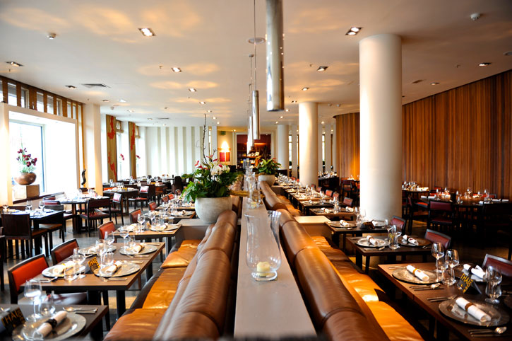 The elegant interior of Mango Tree - Ladyboys and Mango Tree Restaurant