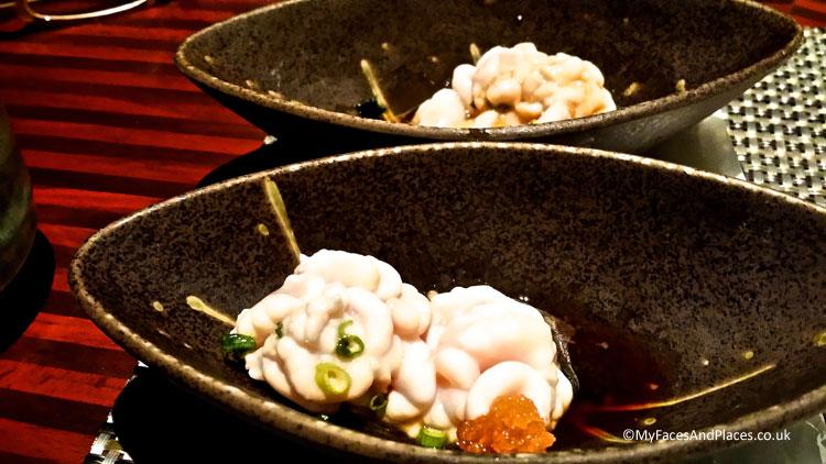 Cod sperm is a delicacy in Hokkaido - Autumn in Niseko