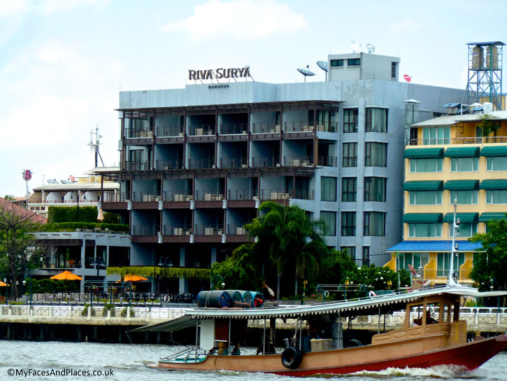 Riva Surya is a charming gem on the Chao Phraya River.