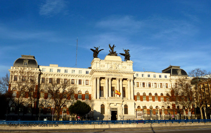 The outstanding Ministry of Agriculture building