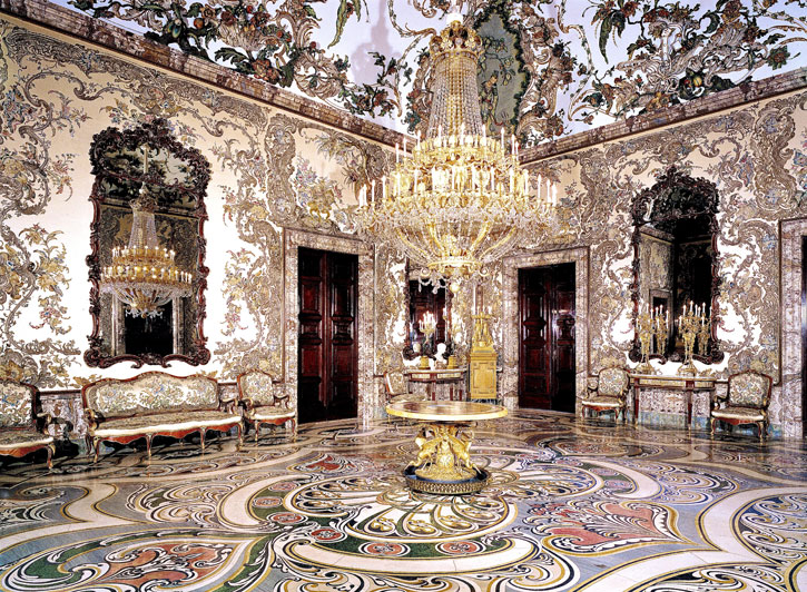 The exquisite Porcelain Room of the Royal Palace (Photo credit: Royal Palace Madrid)