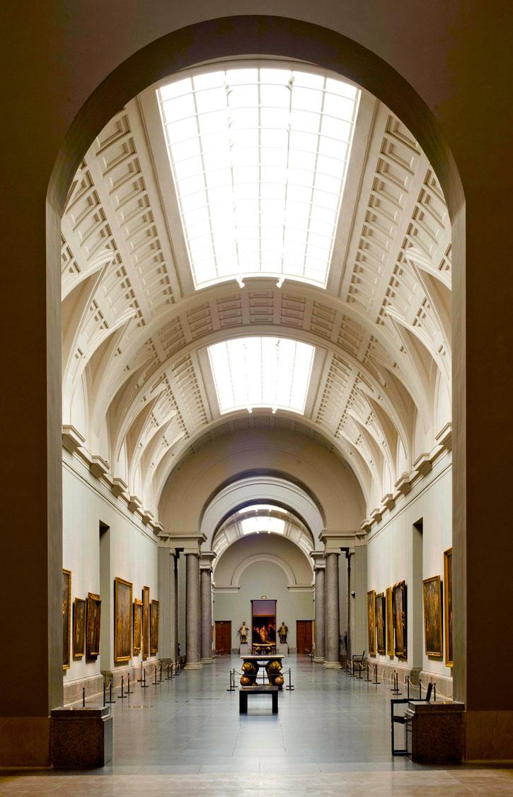 An art gallery in Prado Museum (Photo credit: Prado Museum)