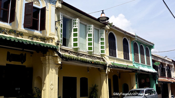 A fine example of the eclectic architectural style of Malacca