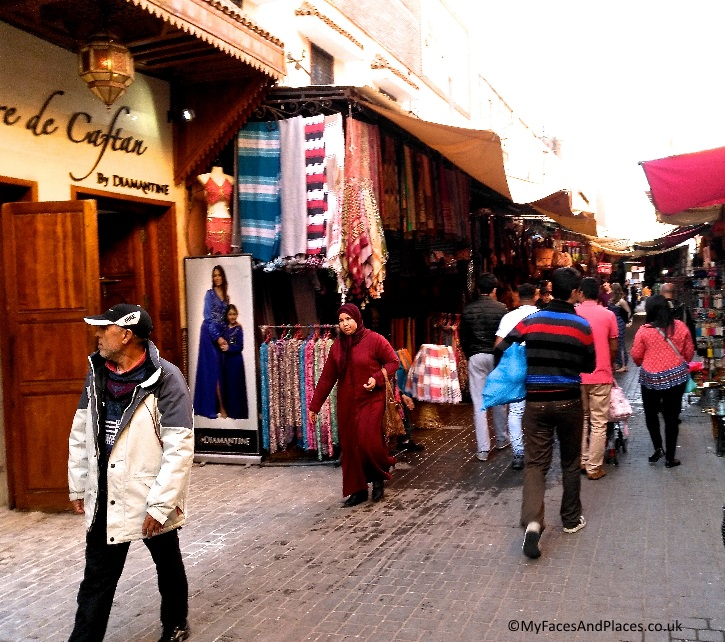 Traditional way of life and trading still thrive in the medina