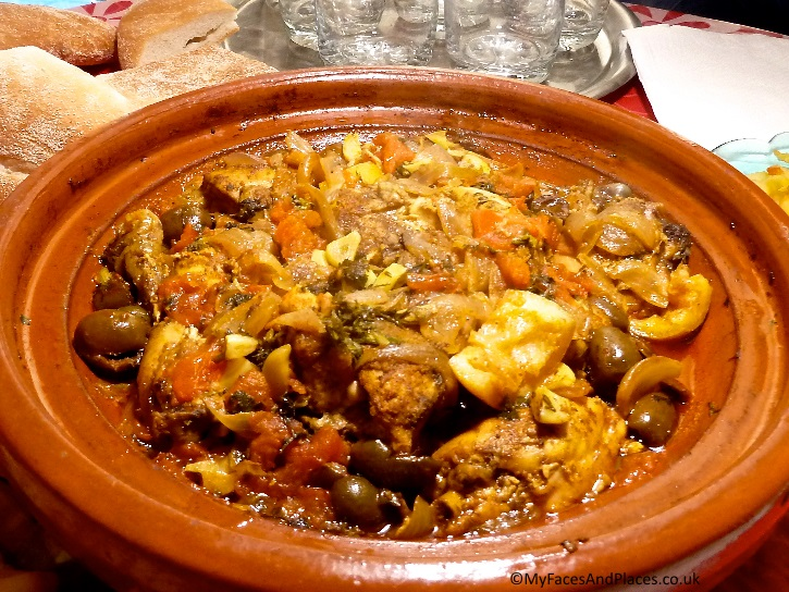 "Mouth-watering chicken tagine cooked by our Berber ""auntie"""