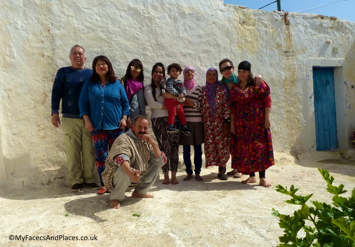 Our hospitable amazing Berber family who treated us to lunch in their home