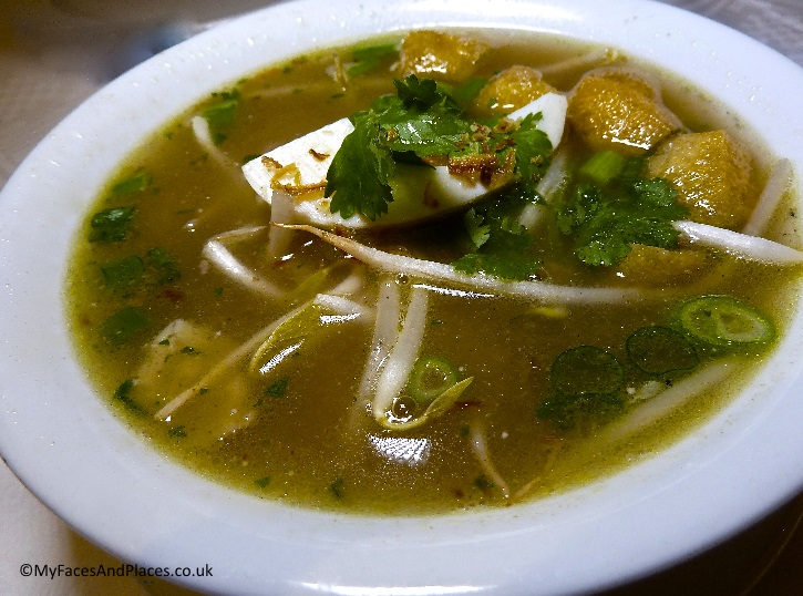 Soto Ayam Malay chicken soup