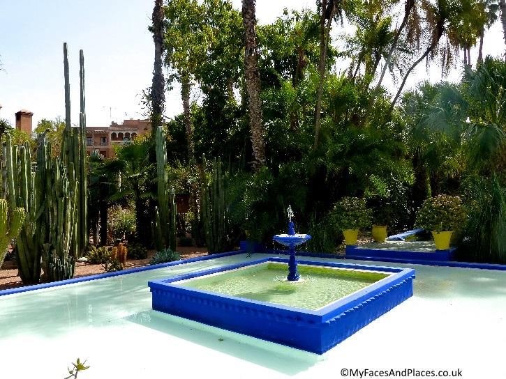 The stylish Jardin Majorelle dedicated to Yves Saint Laurent