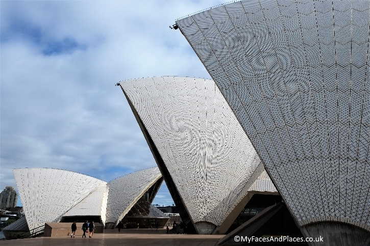 Sydney Stopover - The iconic sail-like structures of the Sydney Opera House