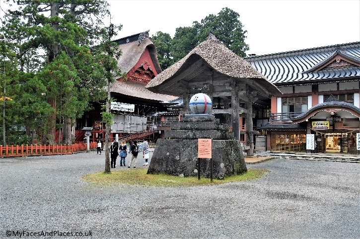 Sanjin Gosaiden the sacred shrine at Mt Haguro