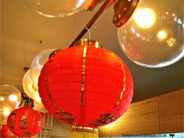 Red lanterns are auspicious symbols for good luck