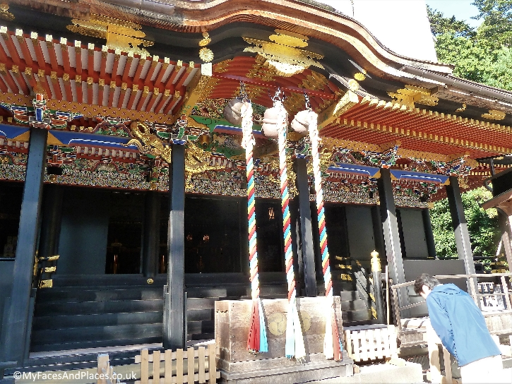 A beautiful temple near Date Masamune's mausoleum
