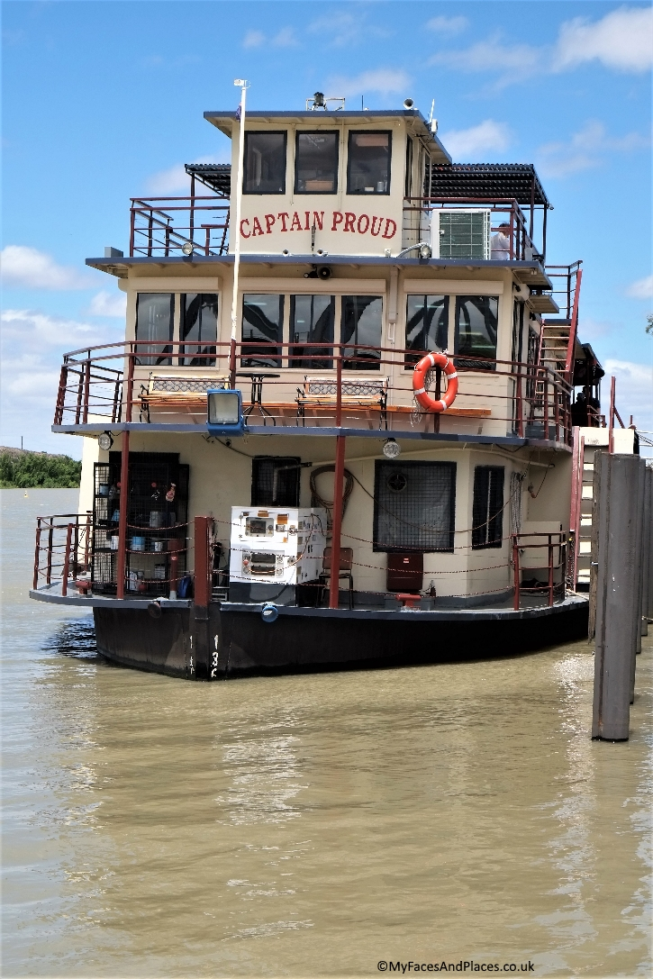 Captain Proud paddle boat is a great way to enjoy a cruise on the Murray River