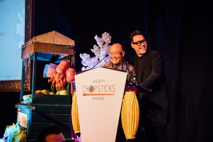 Gok Wan the host of GCAs and the celebrity chef Ken Hom