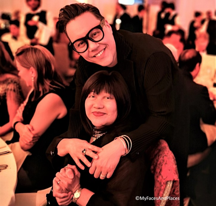 Gok Wan and Helen Oon at the Golden Chopsticks Awards