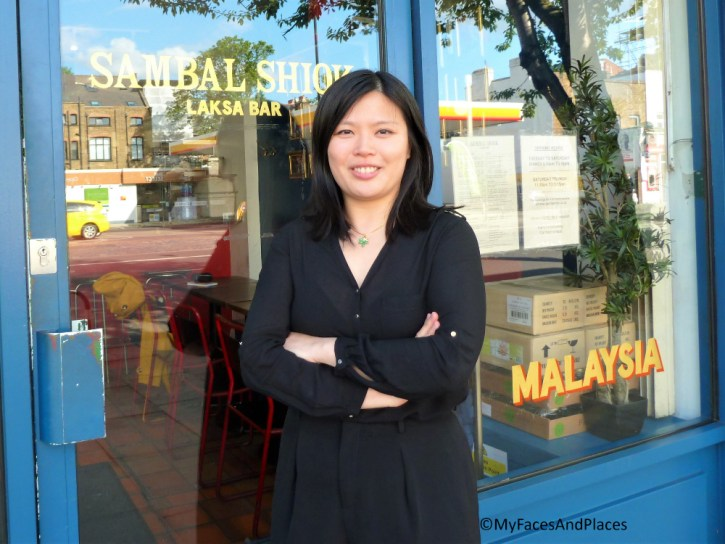 Mandy Yin the owner of Sambal Shiok Laksa Bar