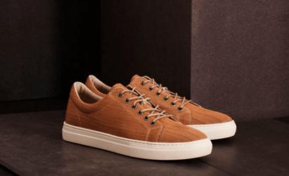 nachhaltige Sneaker von Vagabon aus Holz