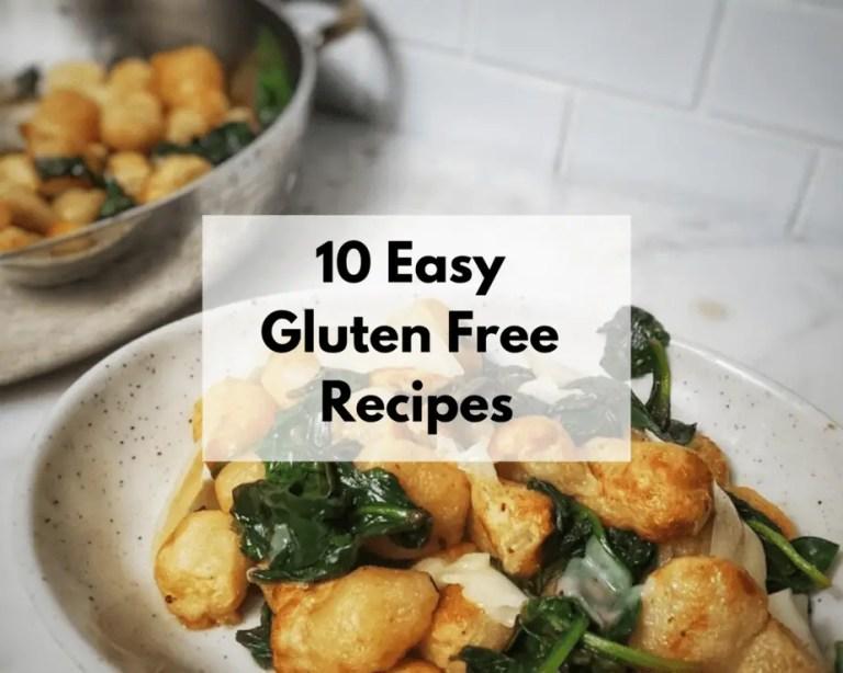 10 Easy Gluten Free Recipe (Freezer Friendly)