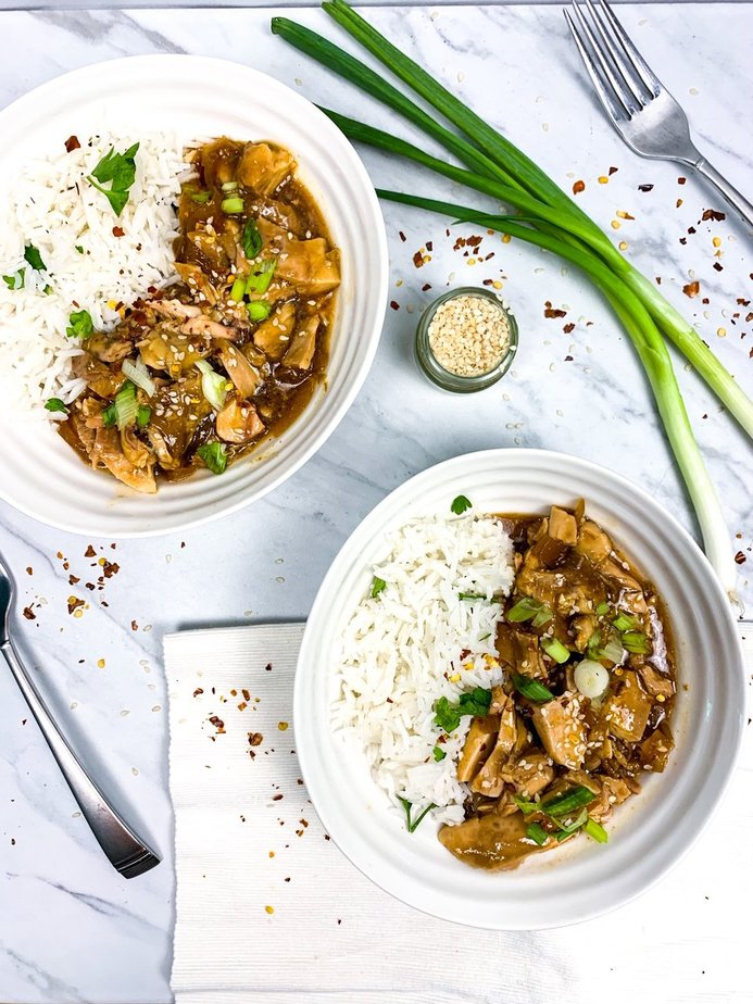 Healthy Teriyaki Chicken, slow cooker | Teriyaki Sauce | Healthy Teriyaki Chicken Bowl | Healthy Teriyaki Stir Fry | Healthy Teriyaki Chicken meal prep | Teriyaki Chicken Breast