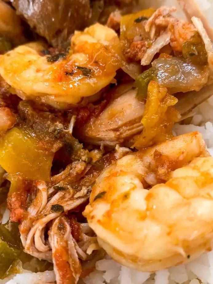 Freezer jambalaya | Freezer meals | Jambalaya recipe | Freezer to crockpot meals | Crockpot dump jambalaya | Hearty jambalaya | Grandma's jambalaya recipe | slow cooker jambalaya recipe | jambalaya recipe | easy jambalaya