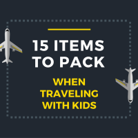 Carry On: 15 Items to Pack for Kids