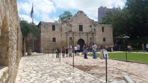 Visit the Alamo in San Antonio, Texas