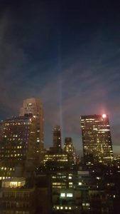 Tribute Lights on 911